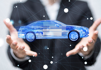 What is the automotive power electronics market driven by?