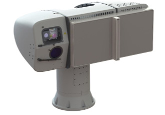Naval radar and electro optical fire control system at DSEI