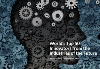 World's Top 50 Innovators from the Industries of the Future