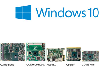 congatec announces comprehensive support of Windows 10 IoT