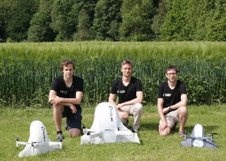 Drone can deliver parcels and save lives