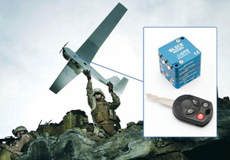 Data recorder small enough for onboard drones