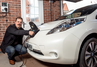 First eVolt charge point installed for Electric Nation
