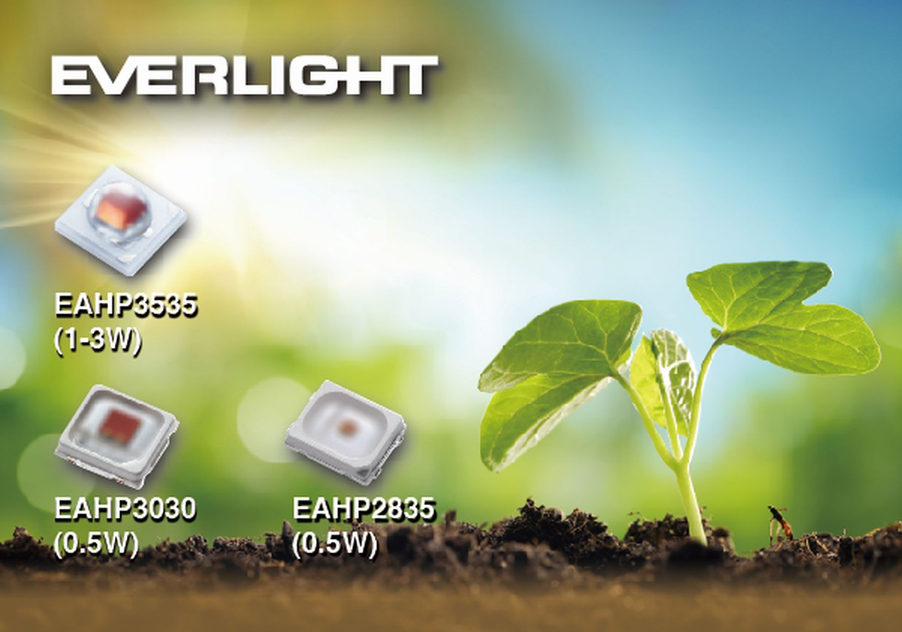 Agriculture LEDs meet plant and livestock requirements