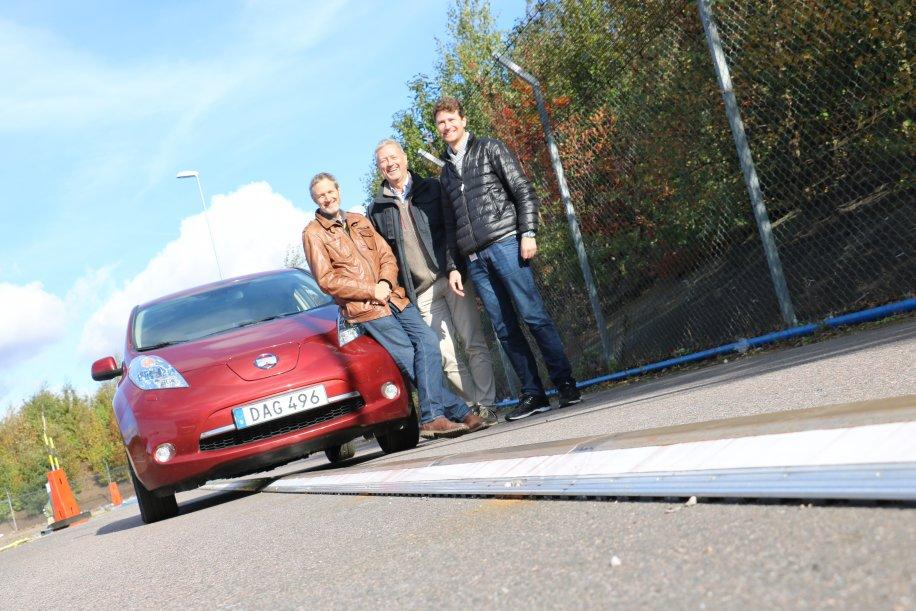 Electric road offers flexible charging