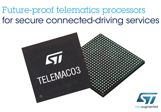 Single-chip processors support future connected driving services