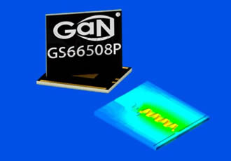GaN transistors enhance accuracy of power system simulations
