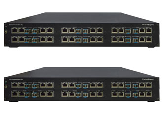 High density Ethernet test solutions for router testing