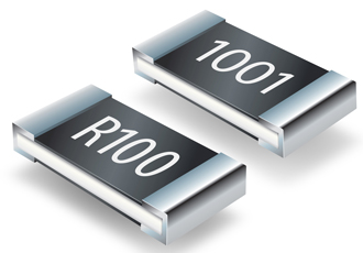 Thick film chip resistors offer enhanced power ratings
