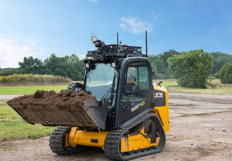 Autonomous unmanned JCB compact track loader to be showcased at DSEI 2017