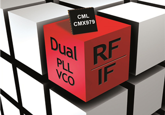 RF synthesiser operates over wide range of frequencies