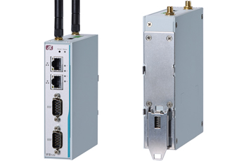 Compact DIN-rail gateway withstands vibration up to 5G