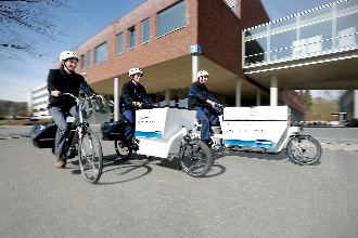 Travelling through Leuven made easier with e-bikes