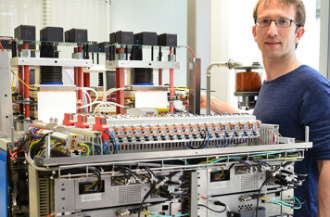 High voltage for next-gen particle accelerator