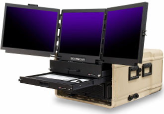 Hardened computer systems designed for military and defence industry