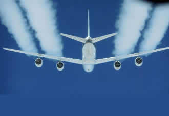 NASA confirms biofuels reduce jet engine pollution