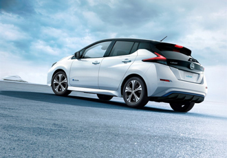 New Nissan Leaf achieves 235 miles on a single charge