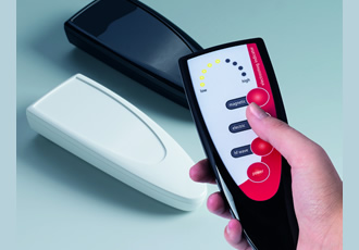 Pimp your remote control with high-gloss handheld enclosures