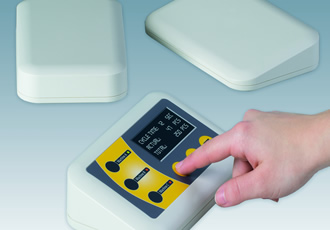 Table-top plastic enclosures for tough working environments