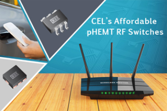 High power RF switch family suits wireless applications