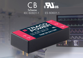 DC/DC converter features ultra-wide 4:1 input range