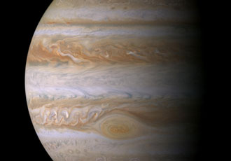 NASA's spacecraft to fly over Jupiter's great red spot