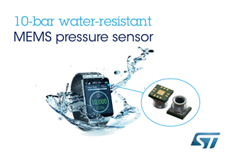 Water resistant pressure sensor enhances smart living