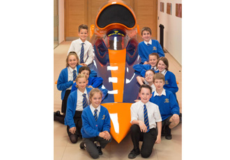 Renishaw hosts 150 pupils for Bloodhound SSC education day
