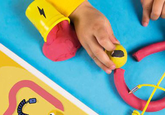 Tech toys teach kids about electricity through light and movement