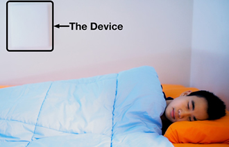 Wi-Fi radio signals detect REM in sleeping persons