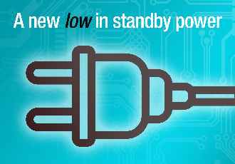 Achieve a new low in standby power