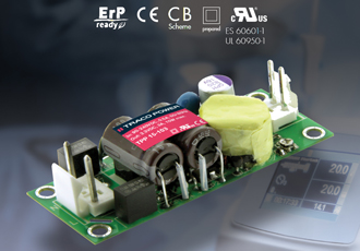 15W AC/DC power supply for industrial and medical applications