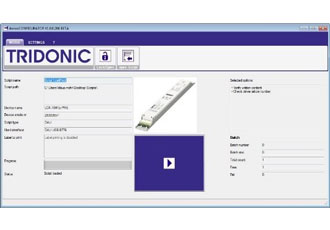 Software for easy configuration of luminaires has been released