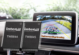 LCD processor instantly displays rearview camera live video