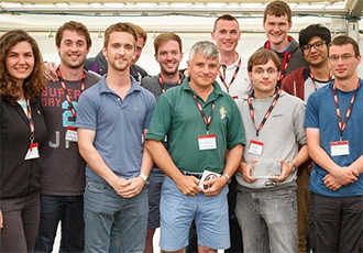 Bath scoops first prize at UAS Challenge