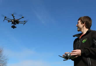 Why is it important to hire a certified drone operator?