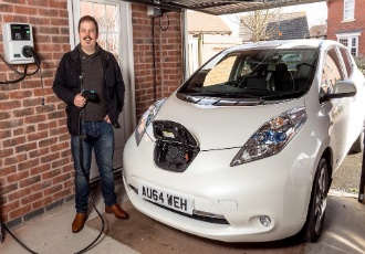 First EV installed at a residential property in the UK