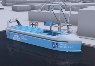 A step forward for seaborne transportation