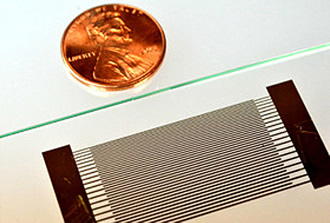 Acoustofluidic chip helps detect disease