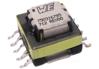 Current sense transformers provide lower power dissipation