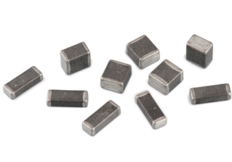 Aluminium electrolyte capacitors on display at electronica China