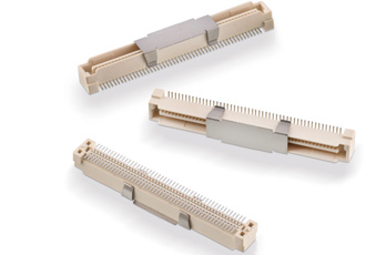 Board-to-board connectors designed for 30 mating cycles