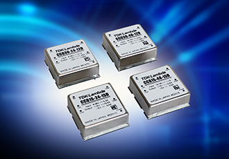 Dual output DC/DC converters with six-sided shielding