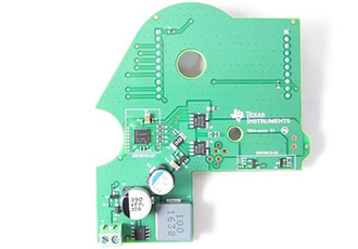Small-footprint sunroof motor module reference design