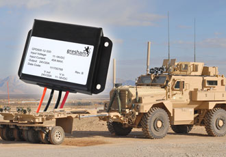 DC/DC converter designed for military security systems