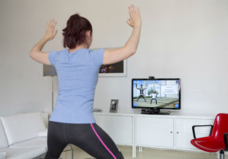 Telemedicine exercise therapy following hip or knee replacement
