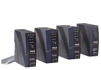 Rail power supplies offer a range of outputs up to 20A