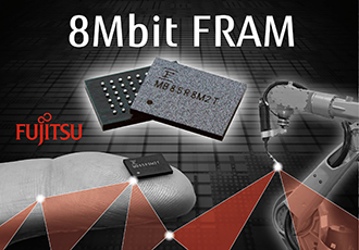 High storage density with new FRAM product