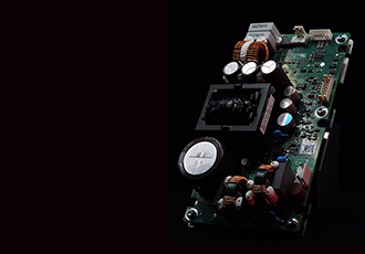 Power amplifier designed for live sound and concerts