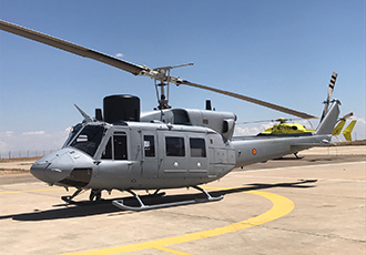 AB-212 helicopter unit delivered to the Spanish Navy
